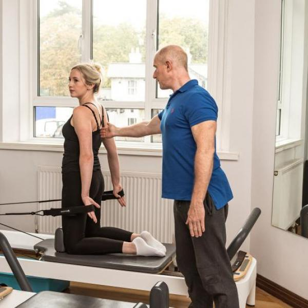 Private Pilates Tuition at reab